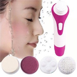 Máy Massage Mặt 5 Trong 1 sạch sâu giảm thâm mụn giúp da trắng hồng tự nhiên  mịn màng