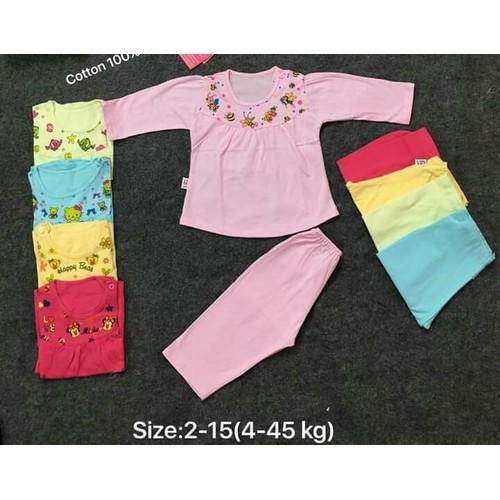 Set 5 bộ đồ dài bé gái 36-45KG