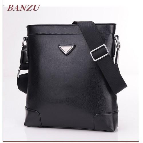 Túi đeo chéo da nam BANZU chống trầy vừa IPAD  KDR-TDC171 Kodoros