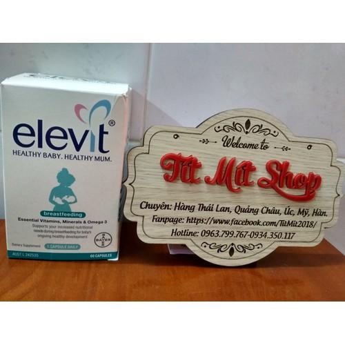 Elevit sau sinh Úc hỗ trợ dinh dưỡng phụ nữ sau sinh