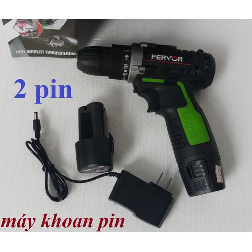 máy khoan và vặn vít chạy pin 12V