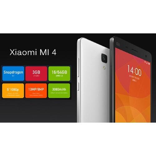 XIAOMI MI 4 RAM 3G CHÍNH HÃNG FULLBOX-BH 12 THÁNG