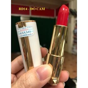 Son lì có dưỡng Asami Bạch Kim 4g - RD14 ĐỎ CAM - 839149-RD14