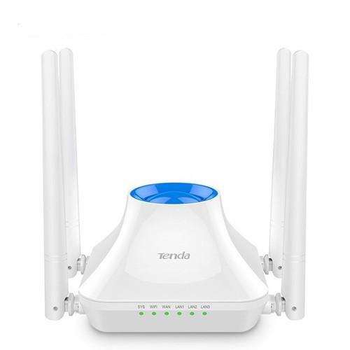 Thiết bị phát sóng WIFI 4 anten tốc độ 300M TENDA F6 V4 MU-MIMO 2.0 - nhập khẩu