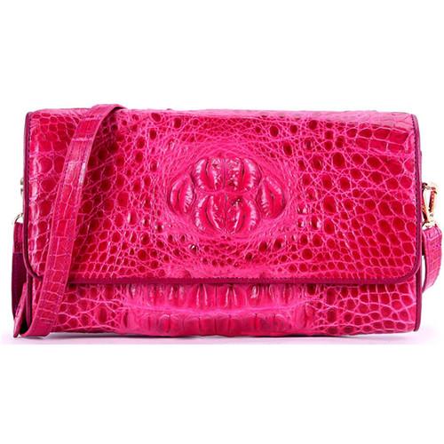 Túi xách nữ Huy Hoàng da cá sấu đeo chéo màu hồng EH6233 - 10807669 , 11245489 , 15_11245489 , 5599000 , Tui-xach-nu-Huy-Hoang-da-ca-sau-deo-cheo-mau-hong-EH6233-15_11245489 , sendo.vn , Túi xách nữ Huy Hoàng da cá sấu đeo chéo màu hồng EH6233