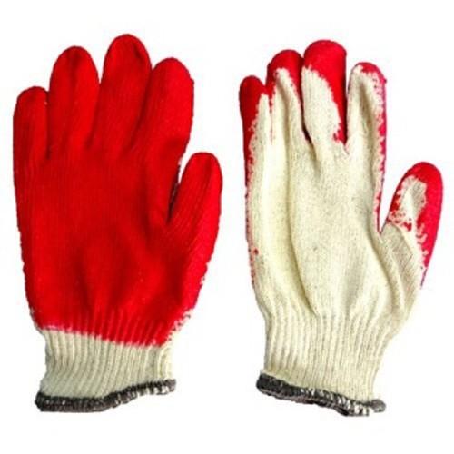 [FREESHIP] Combo 100 đôi gang tay lao động loại sơn màu đỏ hàng có sẵn