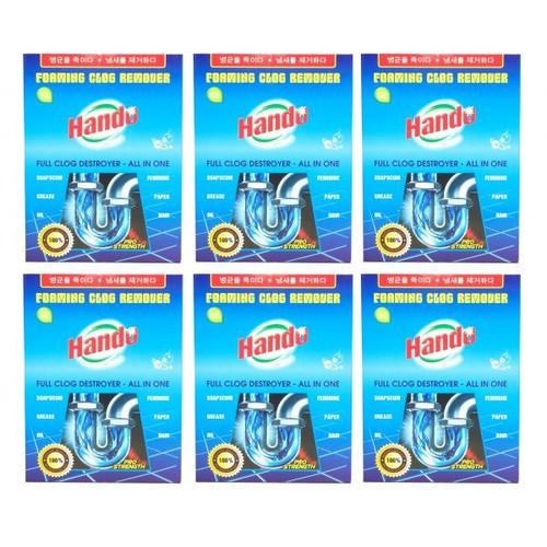 Bộ 6 gói bột thông cống xuất khẩu Hando 100g - 10806671 , 11239576 , 15_11239576 , 180000 , Bo-6-goi-bot-thong-cong-xuat-khau-Hando-100g-15_11239576 , sendo.vn , Bộ 6 gói bột thông cống xuất khẩu Hando 100g