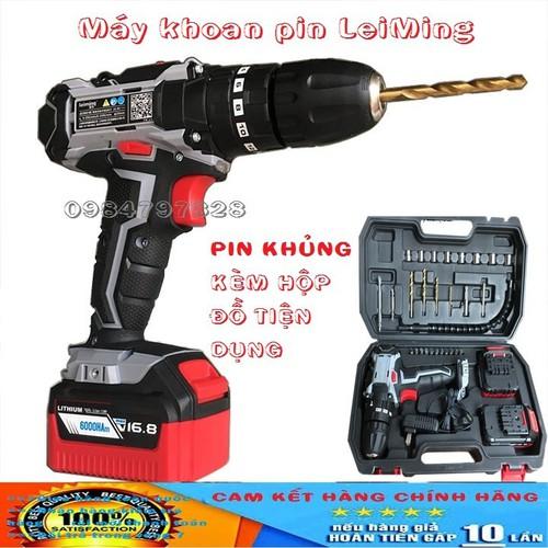 Máy khoan sạc pin-Máy khoan pin LeiMing 16.8V - 5858797 , 12364754 , 15_12364754 , 1570000 , May-khoan-sac-pin-May-khoan-pin-LeiMing-16.8V-15_12364754 , sendo.vn , Máy khoan sạc pin-Máy khoan pin LeiMing 16.8V