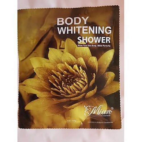 Tắm trắng Mian hoa sen