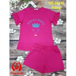 ML061 - Bộ mặc nhà nữ Miss you sweety MISS LATHY