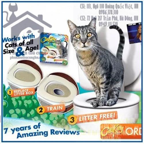 Bộ huấn luyện mèo đi vệ sinh CitiKitty