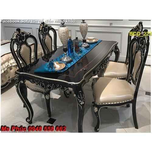 Còn ai muốn sở hữu bộ bàn ghế ăn tân cổ điển đẹp, siêu đẳng cấp - 7824965 , 10942956 , 15_10942956 , 39000000 , Con-ai-muon-so-huu-bo-ban-ghe-an-tan-co-dien-dep-sieu-dang-cap-15_10942956 , sendo.vn , Còn ai muốn sở hữu bộ bàn ghế ăn tân cổ điển đẹp, siêu đẳng cấp