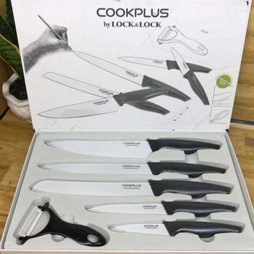 Bộ dao làm bếp 6 món cao cấp LockLock