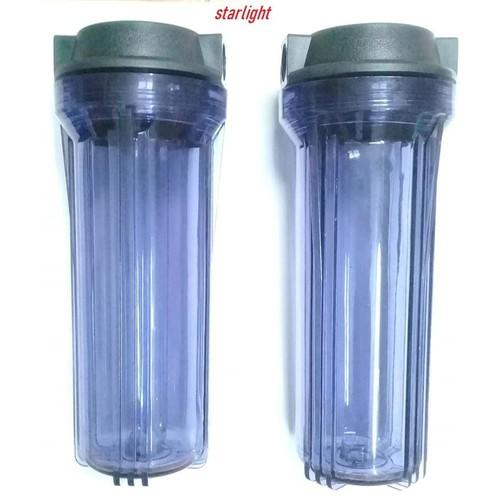 2 Cốc lọc nước số 1 ,10 inch, ren 21 +tay vặn cốc