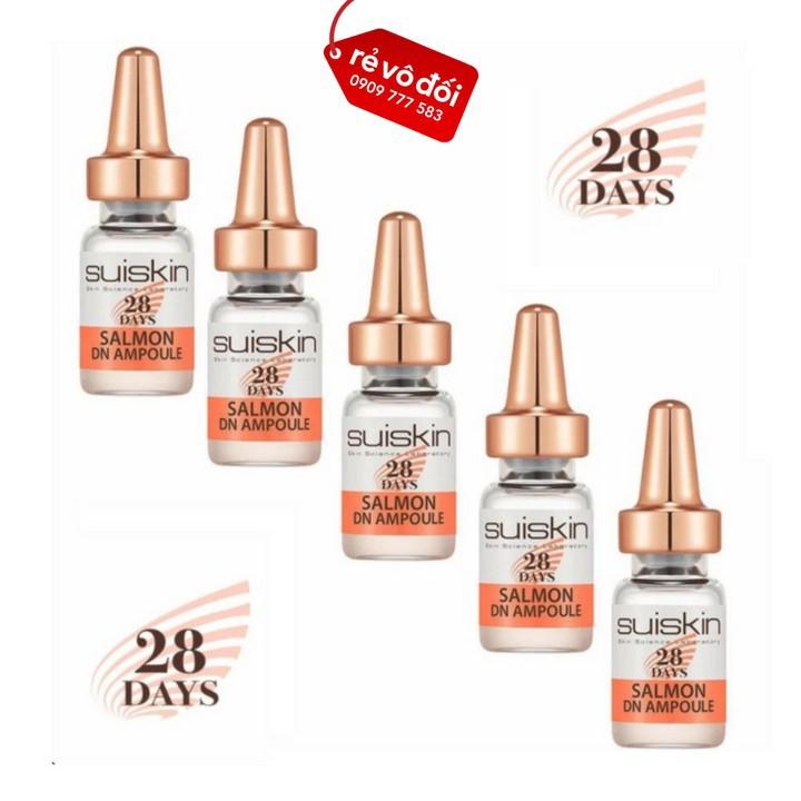 [Nguyên hộp 28 ống] Tinh chất dưỡng da tế bào gốc trứng cá hồi - Suiskin 28 2