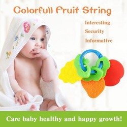 Bộ 3 đồ chơi hình Trái cây cho bé