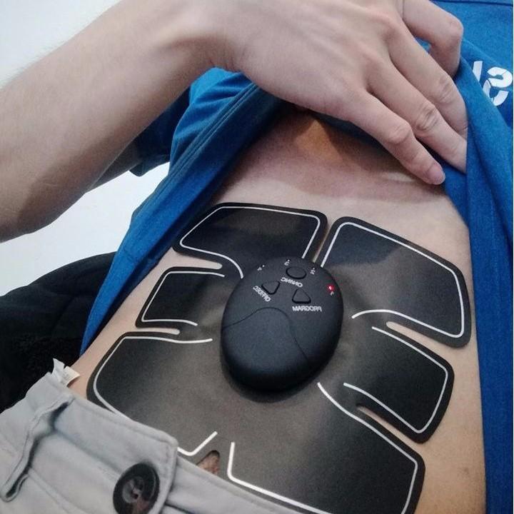 Máy Massage Body 6 Múi - dụng cụ tập bụng 6