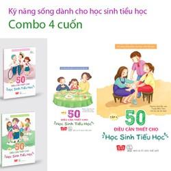Sách - Kỹ năng sống dành cho Cho Học Sinh Tiểu Học Combo 4 cuốn