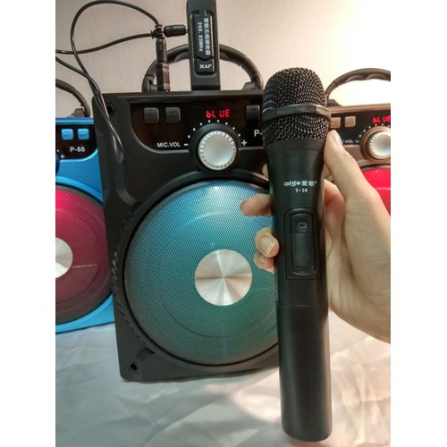 Loa karaoke bluetooth + Tặng Mic không dây