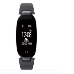 Đồng hồ thông minh cho nữ WristBand S3 đo nhịp tim, bước chạy, chống nước thích hợp làm vòng đeo tay thông minh cho nữ thời trang