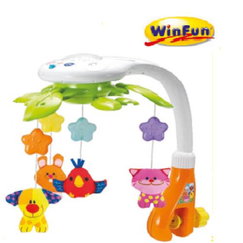 Treo nôi cũi động vật có nhạc WINFUN 0845
