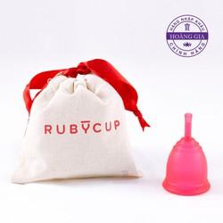 Cốc nguyệt san Ruby cup, Anh quốc, màu Đỏ size S