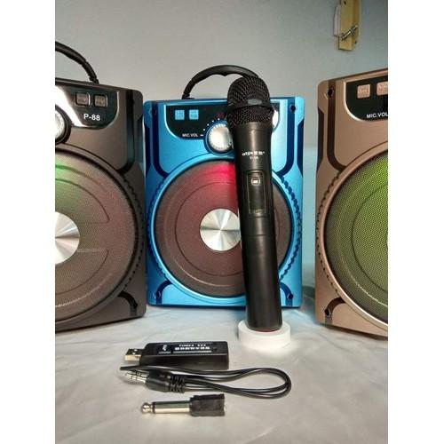 Loa karaoke bluetooth + Tặng Mic không dây - 6493265 , 13133722 , 15_13133722 , 598000 , Loa-karaoke-bluetooth-Tang-Mic-khong-day-15_13133722 , sendo.vn , Loa karaoke bluetooth + Tặng Mic không dây