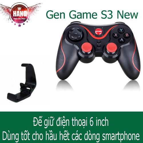 [Chính hãng] Tay cầm chơi game Gen game S3 | Kèm đế | Kèm usb