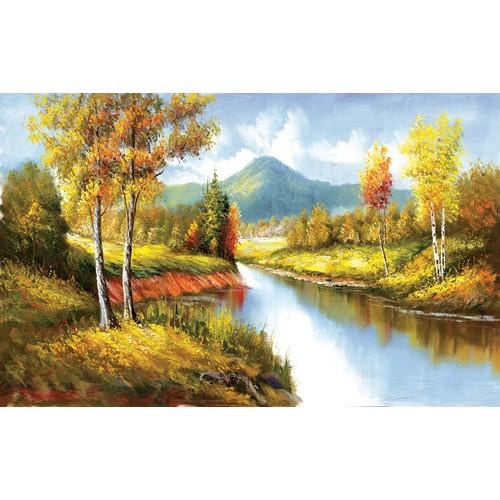 Tranh in canvas VTC  LunaCV-0169 KT 80 x 50 cm