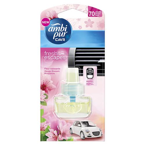 Chai tinh dầu thơm ô tô Ambi Pur Car Air Freshener Refill ABP5294 7ml
