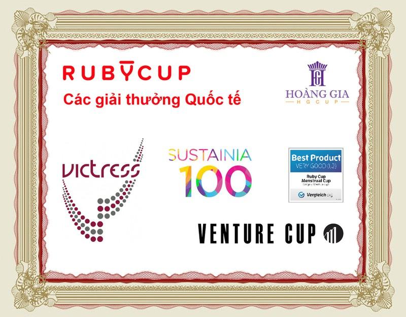 Cốc nguyệt san Ruby cup, Anh, màu Trong Size M, NK độc quyền 11