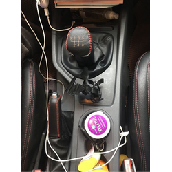Combo bọc cần số tay phanh da ô tô Ford Ranger MT