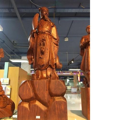 Tượng Khổng Minh gỗ Cẩm Lai - 7876874 , 11255160 , 15_11255160 , 10500000 , Tuong-Khong-Minh-go-Cam-Lai-15_11255160 , sendo.vn , Tượng Khổng Minh gỗ Cẩm Lai