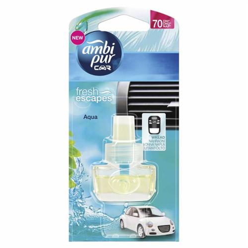 Chai tinh dầu thơm ô tô Ambi Pur Car Air Freshener Refill ABP8813 7ml