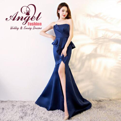 Đầm dự tiệc - Đầm body cup xẻ tà sang trọng Angel Fashion ANFA-H145
