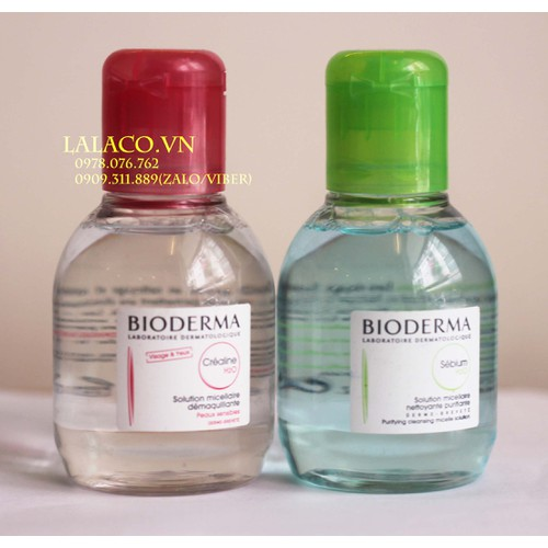 Nước tẩy trang Bioderma 100ml -  hàng nhập Pháp