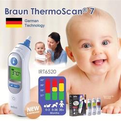 [CÓ SẴN] Máy nhiệt kế đo tai Braun-irt6520 chính hãng Đức