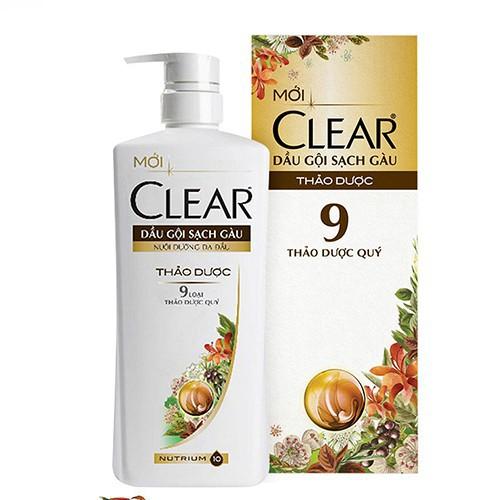 Dầu gội sạch gàu thảo dược Clear 650g - 10813757 , 11274395 , 15_11274395 , 146000 , Dau-goi-sach-gau-thao-duoc-Clear-650g-15_11274395 , sendo.vn , Dầu gội sạch gàu thảo dược Clear 650g