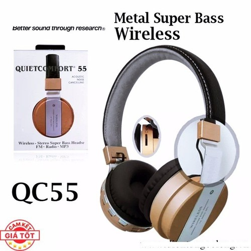 Tai Nghe Bluetooth Chụp Tai BSE QC55