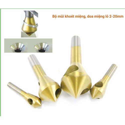 2-20mm Bộ mũi doa lỗ kim loại dạng đầu nón lỗ phay xiên phủ - 10813620 , 11273499 , 15_11273499 , 285000 , 2-20mm-Bo-mui-doa-lo-kim-loai-dang-dau-non-lo-phay-xien-phu-15_11273499 , sendo.vn , 2-20mm Bộ mũi doa lỗ kim loại dạng đầu nón lỗ phay xiên phủ