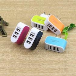 Cốc sạc đa năng 3 cổng USB 3.1A tiện ích