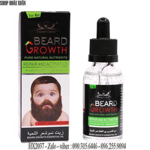 Thuốc mọc râu mọc lông vùng ngực BEARD GROWTH Dininzi 40ml