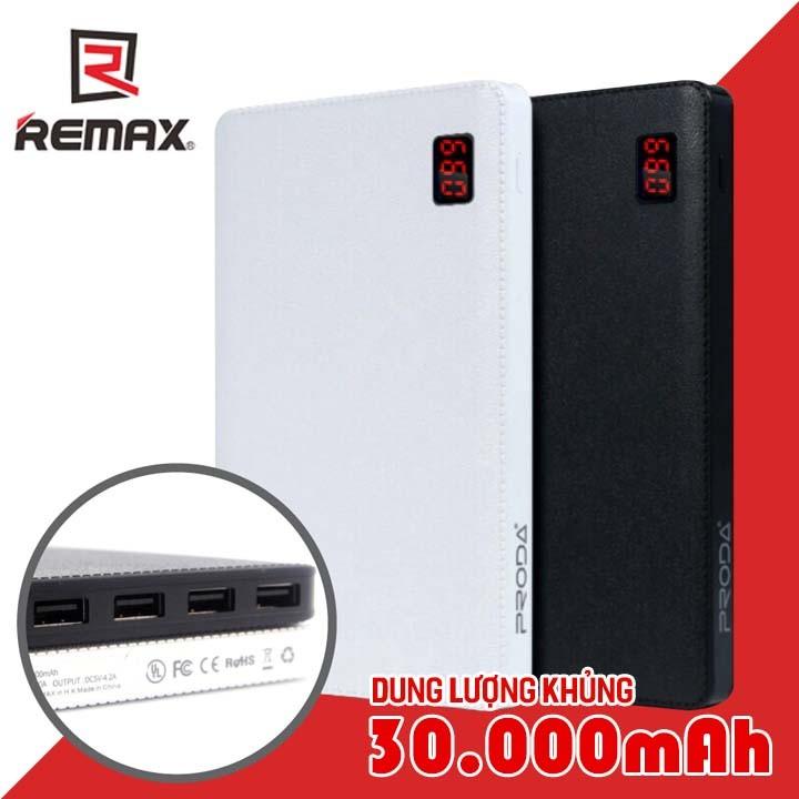 Pin sạc Dự Phòng Remax Proda Notebook 30000mah - 0004