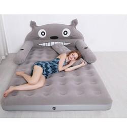 Giường hơi - giường hơi - đệm hơi totoro con mèo