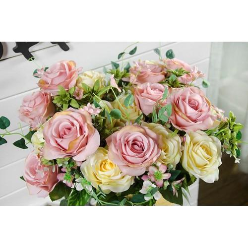 Hoa hồng trang trí HC16 - 10814953 , 11278541 , 15_11278541 , 150000 , Hoa-hong-trang-tri-HC16-15_11278541 , sendo.vn , Hoa hồng trang trí HC16