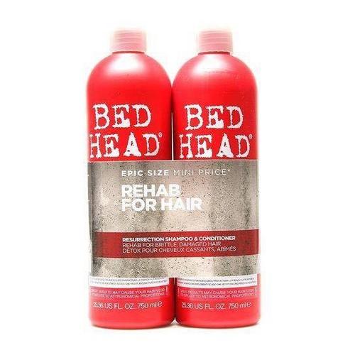 Cặp dầu gội xả TIGI màu đỏ phục hồi tóc hư tổn - hàng nhập Mỹ
