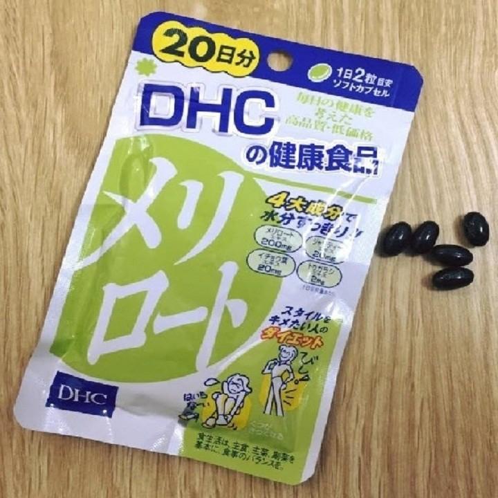 Viên uống thon đùi DHC 20 Ngày Nhật Bản 5