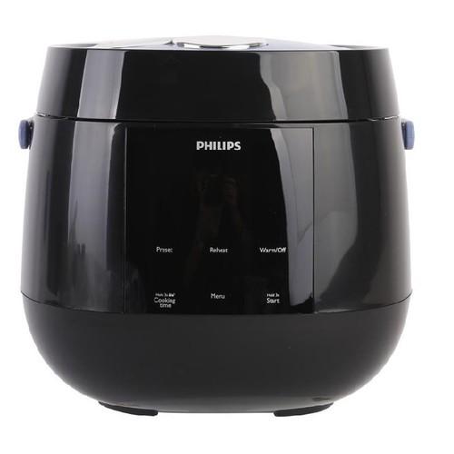 Nồi Cơm Điện Tử Philips HD3060 Đen, Hàng Chính Hãng