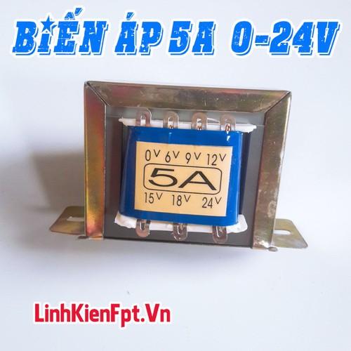 Linh kiện điện tử Biến Áp 5A Điện Áp Ra 0-24V Hoạt Động Ổn Định