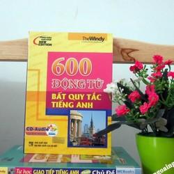 Sách 600 động từ bất quy tắc tiếng Anh Kèm CD hoặc tải App